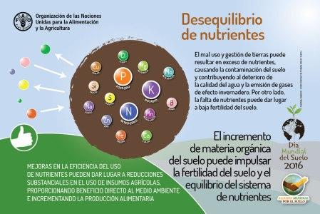 Desequilibrio de nutrientes.